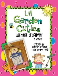 """Tops or Bottoms? These lil Garden Cuties are diggin' up some learning fun! The literature-based activities were created to go along with the book """"Tops and Bottoms"""" by Janet Stevens. This lil packet is a great addition to any plant, garden or Earth day unit!"""