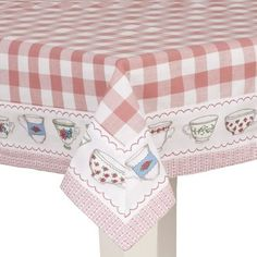 Tafelkleed Shops, Tea Time, Decorative Boxes, Home Decor, Towels, Gingham, Table Toppers, Driveways, Cooking