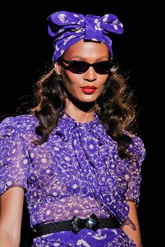 lovely violet - Anna Sui SS12
