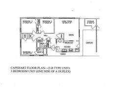 nsa mid south capehart neighborhood 3 bedroom home