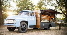 I shot this sweet old/new ride Saturday that is a decked out catering truck. Four beer taps, espresso maker and two tons more. coastalcrust...