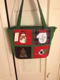 Christmas Holiday handbag (REDUCED  8)-Kim Rogers 7da7a95f48c3b