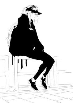 Hiding guns in plain sight calls for tips and tricks from gun experts, so find out about DIY gun safes 5 Anime, Anime Kawaii, Kawaii Girl, Manga Girl, Anime Art Girl, Tomboy Drawing, Badass Drawings, Manga Drawing, Anime Outfits