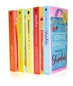 the shopaholic series is probably the funniest series of books i have ever read. literally laughed out loud the entire time!