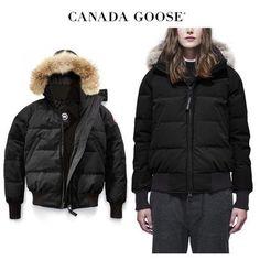 CANADA GOOSE ダウンジャケット・コート CANADA GOOSE Savona Bomber あったかコンパクト 引き締めBlack Canada Goose Women, Winter Jackets, Fashion, Winter Coats, Moda, Winter Vest Outfits, Fashion Styles, Fashion Illustrations