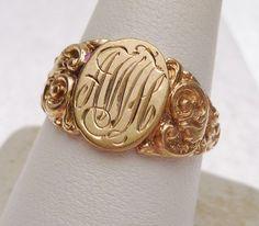 signet ring initials - Google 検索