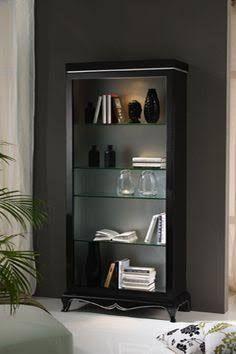 Vitrinas de cristal vitrinas de comedor vitrina art for Vitrinas salon modernas