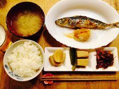丸鯵塩焼き、筍と高野豆腐の炊合せ、ホタルイカの酢味噌和え。