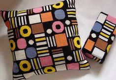 """I love English Liquorice Allsorts. this is a kit for """"counted tapestry"""" cushion at Folksy. Inspiration for tapestry crochet. Needlepoint Pillows, Needlepoint Patterns, Knitting Patterns, Crochet Patterns, Crochet Cushions, Tapestry Crochet, Cross Stitch Pillow, Cross Stitch Embroidery, Cross Stitch Designs"""