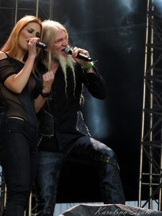 Delain & Marco Hietala@ Masters Of Rock 2017, Vizovice, Czech Republic 15.07.2015 | por szucia