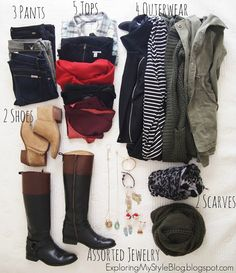 What to Pack for Christmas in California. How to pack for a winter trip to Northern California. Cold weather packing. Exploring My Style blog.
