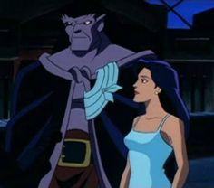 Goliath and Elisa from Disney's Gargoyles season 3 The Goliath Chronicles episode: The Journey