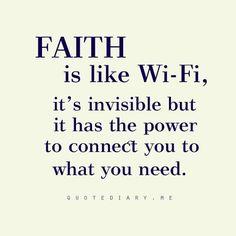 Faith in any form :0)