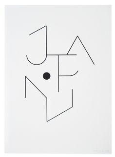 Logo by the french graphic designer Philippe Apeloig. Dessine-moi le Japon » Vente au profit de la Croix Rouge Japonaise. Encre sur papier #apeloig #graphicdesign #logo