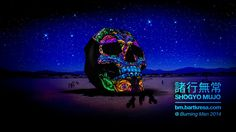 3D, 360º Projection Mapped Skull for Burning Man 2014. Thank you everyone who supported our Kickstarter project. We are fully funded but are...
