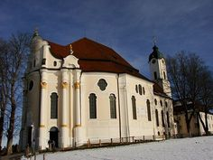Romantic Road in Germay - Photo Gallery: Church in the Meadow: Wieskirche