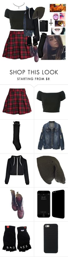 """""""Niki Cullen [RP]"""" by blurryg0ner ❤ liked on Polyvore featuring H&M, Alice + Olivia, Boohoo, Damsel in a Dress and Dr. Martens"""