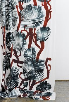 Mänty fabric, designed by Matti Pikkujämsä for Samuji.