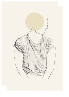 T-shirt shadows, Sketchbook - Lindsay Lombard