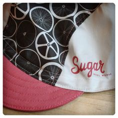 Cycling hat from Sugar Wheel Works. Obsessed with cycling caps!