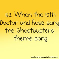Who you gonna call?!!! I ain't afraid of no ghost!! XD