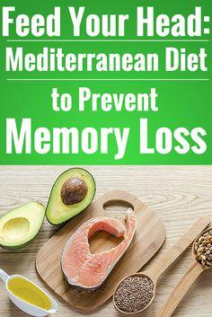 Feed Your Head: Mediterranean Diet to Prevent Memory Loss #mediterranean #diet #dementia #prevention | everydayhealth.com