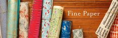 Share in our passion for the art and origins of decorative paper