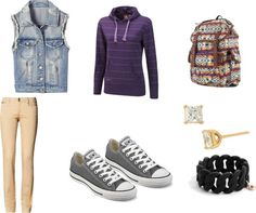 Hoodie Outfits For School