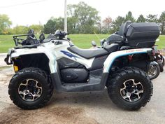 Used 2015 Can-Am Outlander MAX XT 500 ATVs For Sale in Wisconsin. 2015 Can-Am Outlander MAX XT 500, 1-OWNER, 3000LB WINCH. RACK EXTENSION, CARGO BOX, BIG BUMPERS, EFI, POWER STEERING, INDEPENDENT REAR SUSPENSION AND MORE!! - . Give us a call toll free at 877=870-6297 or locally at 262-662-1500. There will be more pictures available upon request. We also offer great financing terms for qualifying credit. Call us for buying or trading your motorcycle, atv, or snowmobile.