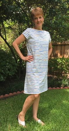 Vivian's Romy dress - Sewing Pattern by Tilly and the Buttons