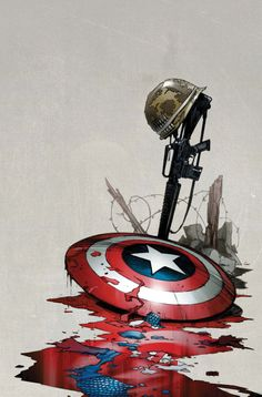 ron-garney-ultimate-comics-captain-america-4-apr2011.jpg — GeekDraw