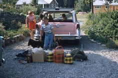 'Camping' Your Style: Vintage Pics of Happy Campers -