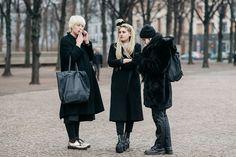 Street style, Fall 2015 - Berlin Fashion Week