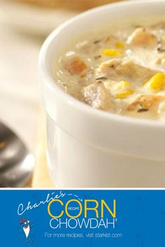 Cut the clams! Chowder with tuna gives you extra protein. A great alTUNAtive for a hearty chow-down! [Approved StarKist Sweeps Entry]