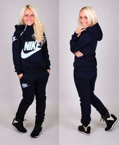 Nike jogging suit More - 2019 Nike Outfits, Adidas Outfit, Sporty Outfits, Fashion Outfits, Fashion Trends, Swag Outfits, Nike Jogging Suits, Nike Sweat Suits, Nike Clothes