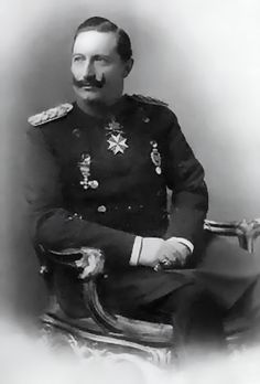 the German emperor, king Wilhelm II v. Prussia