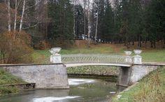 Pont en Fonte - Pavlovsk - Construit en 1823 par Carlo Rossi