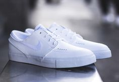 "Nike SB Zoom Stefan Janoski ""White on White"""