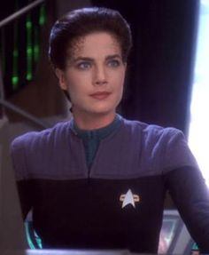 Jadzia Dax was a joined Trill and the eighth host of the Dax symbiont from 2367 to 2374. She was a Starfleet science officer who served on space station Deep Space 9 under the command of Captain Benjamin Sisko. Played by Terry Farrell