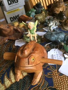 Frogs in all forms and colours in our shop in shop. Houtplein 16, Haarlem, The Netherlands.