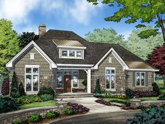 ePlans Ranch House Plan – Cute And Cozy With Rear Garage – 1914 Square Feet and 3 Bedrooms from ePlans –  House Plan Code HWEPL78143