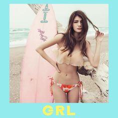GRL グレイル ViVi マギー フリルセパレートカップビキニ水着 [sw714(sw714)]|ROOM
