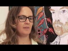 Del Kathryn Barton, Archibald Prize 2013 winner Contemporary Australian Artists, Australian Painting, Del Kathryn Barton, Art School, Art Lessons, Art Gallery, Faces, Portraits, Teaching