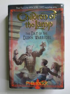 Children of the Lamp, The Day of the Djinn Warroirs, hollow book, stash book.