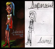 L'artiste américain Dave DeVries rétablit la vérité en redessinant et en étoffant des crayonnages d'enfants. L'imagination infantile aux services de l'Art, ça donne ça.