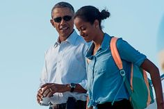 Barack Obama may have had to make some difficult decisions as president, but surely none of those compare to that with which his daughter Malia, a high school senior, is now confronted: to which elite universities should she submit a college application? Barack Obama, Malia Obama, Presidente Obama, Malia And Sasha, College Application, More Fun, People, Daughter, Folk