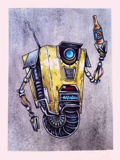 Claptrap Art #borderlands