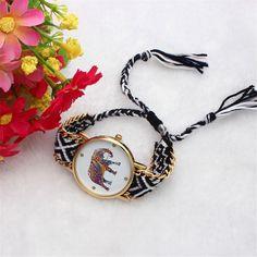$1.61 (Buy here: https://alitems.com/g/1e8d114494ebda23ff8b16525dc3e8/?i=5&ulp=https%3A%2F%2Fwww.aliexpress.com%2Fitem%2FFetong-Women-Handmade-Elephant-Bracelet-Dial-Quarzt-reloj-pulsera-mujer-relojes-montres-relogio-Watch-Drop-Shipping%2F32786226557.html ) Hot Unique Women Handmade Elephant Bracelet Dial Quarzt reloj pulsera mujer relojes montres relogio Watch Drop Shipping F12 for just $1.61