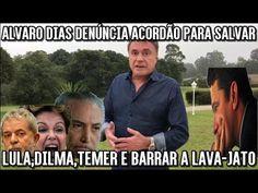 Alvaro Dias DENÚNCIA ACORDÃO PARA SALVAR LULADILMATEMER E BARRAR A LAVA-JATO