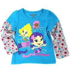 Bubble Guppies Girls Long Sleeve Tee (4T, Turquoise BBF Friends) Nickelodeon http://www.amazon.com/dp/B016065GAQ/ref=cm_sw_r_pi_dp_zG5Uwb0GBSKD6